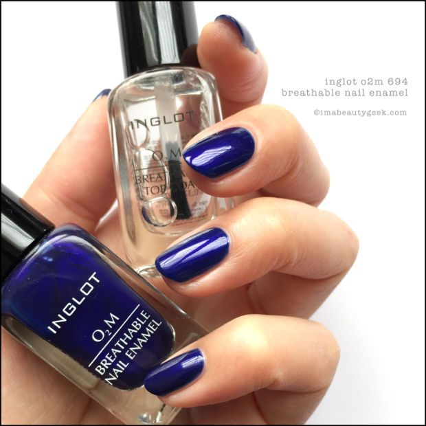 INGLOT O2M BREATHABLE NAIL ENAMEL SWATCHES & REVIEW   Swatch and ...