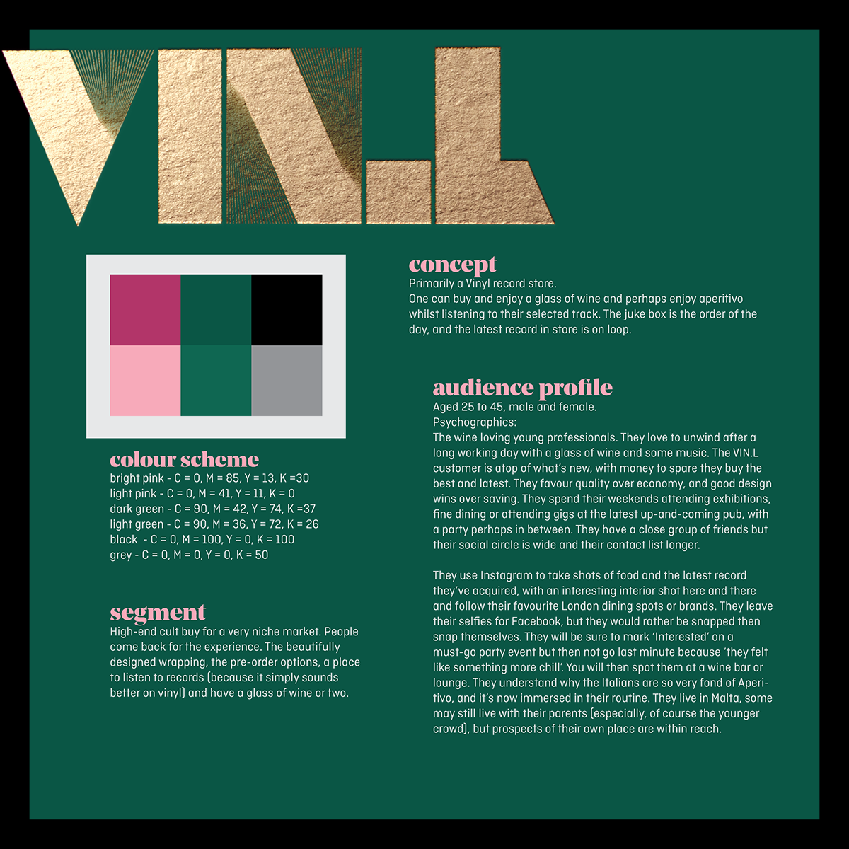 Check Out My Behance Project Vinl Concept Store Branding Concept Store Concept Branding