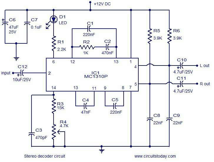 MCP1310P Stereo Decoder chip. Planning to use on Leak Thoughline ...