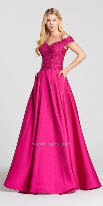 Look like a fairy tale princess on your special night in the V-shape ...