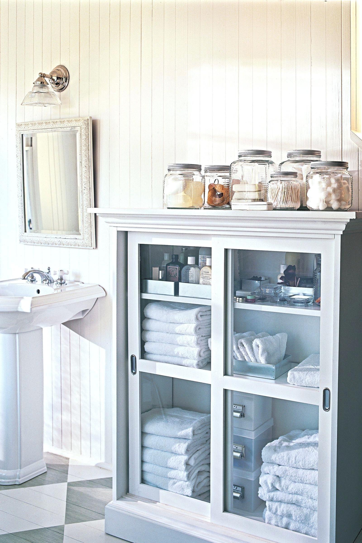 Bathroom Organization Ideas Best Bathroom Organizers To Try Bathroom Glass Storage Jars Small Bathroom Storage Bathroom Storage Solutions Diy Bathroom Storage