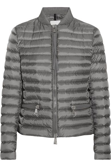080a2e1b1 Moncler - Blen quilted shell down jacket | Clothing.Design | Moncler ...