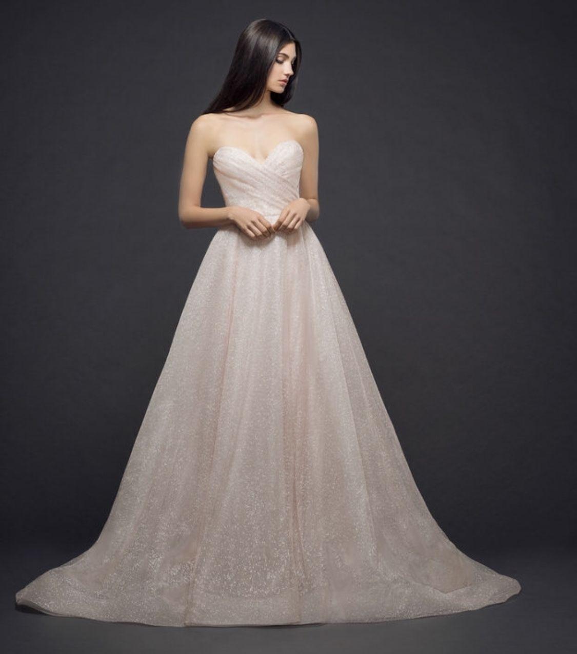 Lazaro 3810 wedding dress used size 10 2500