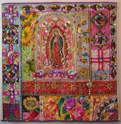 Our Lady of Guadalupe Quilt