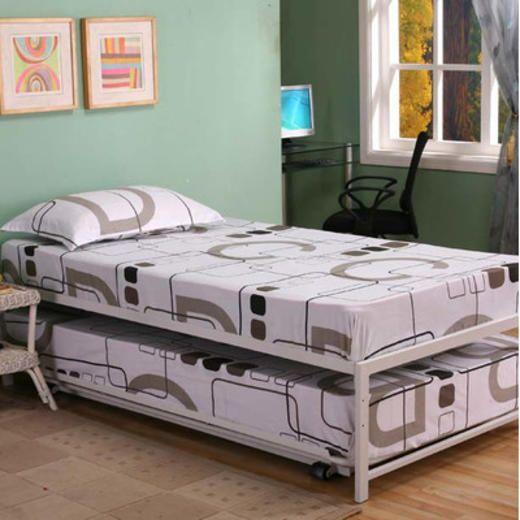 Inroom Designs Logan Twin Platform Hi Riser Bed With Pop Up