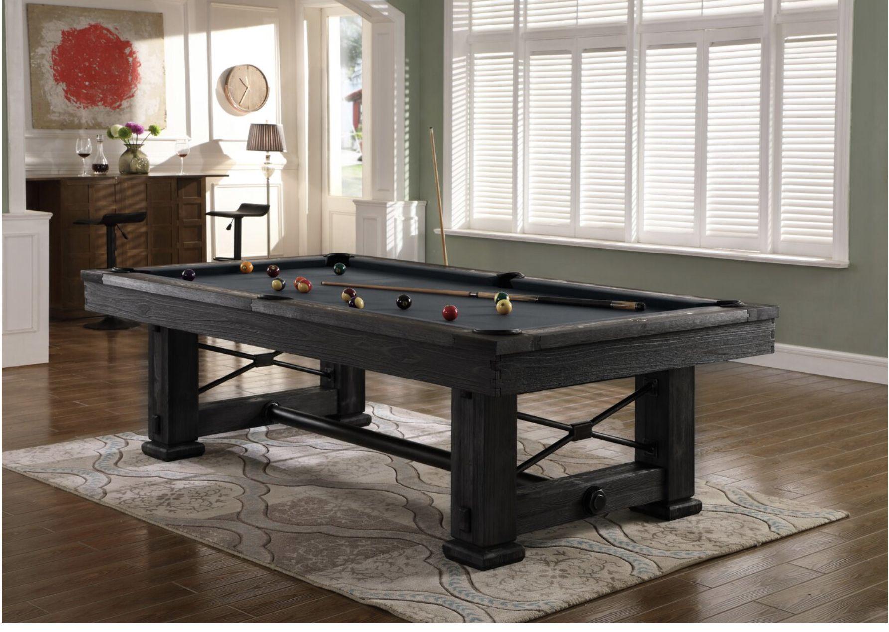 Weather pool table in 2020 Pool table slate, Pool table