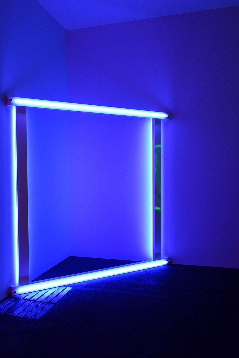 Art basel 2015 aesthetic colors neon noir blue aesthetic