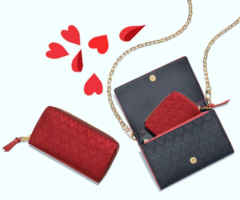 4932b6b2b3f Wallet Chain, Favorite Things, Red Accents, Continental Wallet, Designer  Shoes, Card