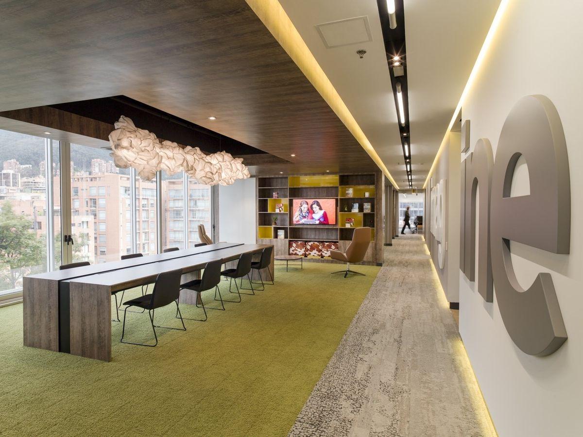 microsoft office design. Microsoft Bogotá (Colombia) Office Design