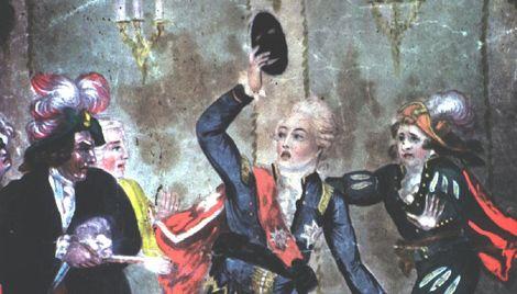 Gustav Iii Ball Back To Sweden History Gustavus Iii