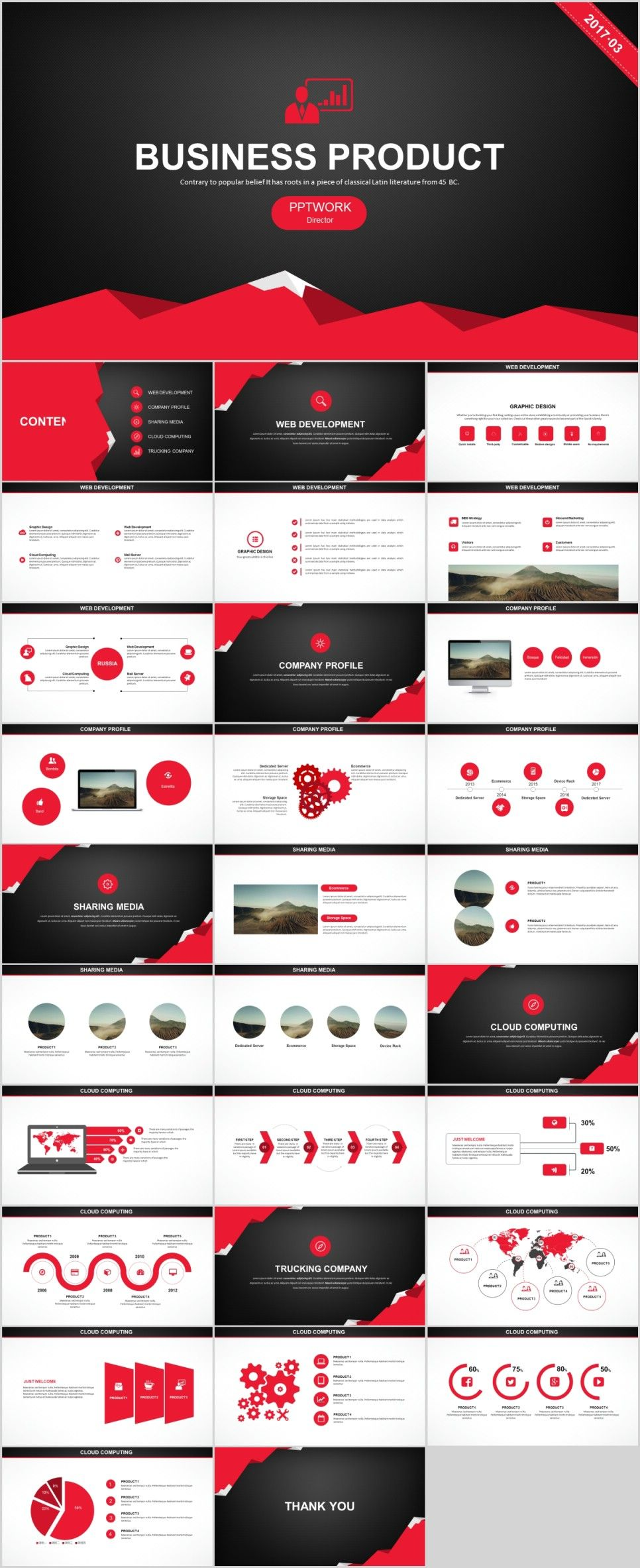30 Creative business Product plan PowerPoint templateThe highest quality PowerPoint Templates and Keynote Templates download