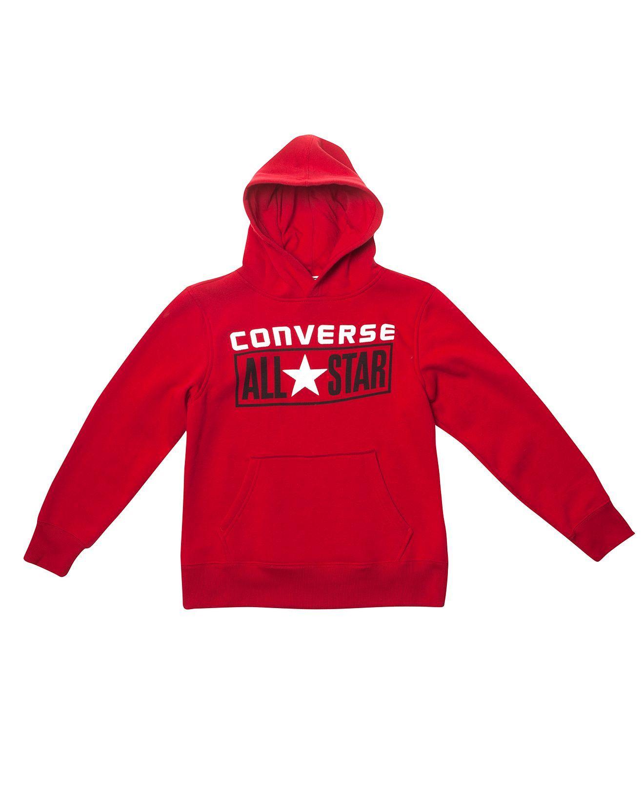 be0bbdf9 Converse Kids Hoodie, Boys License Plate Pullover Hoodie - - Macy's ...