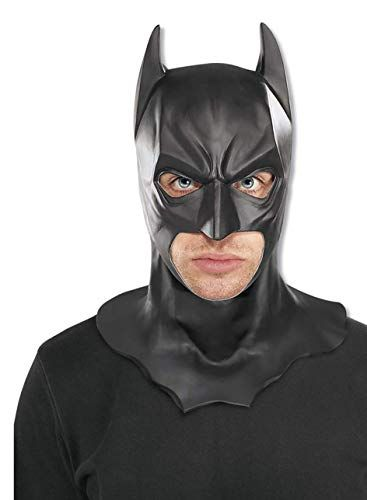 Batman The Dark Knight Rises Full Batman Mask Black One Size