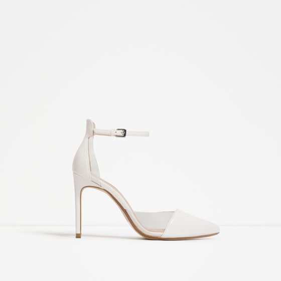 809aaf9725b Image 4 of VINYL D ORSAY SHOES from Zara