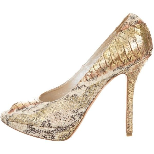 clearance best cheap sale countdown package Christian Dior Snakeskin Printed Pumps sale low shipping fee top quality online for sale buy authentic online UyJxuTJKoC