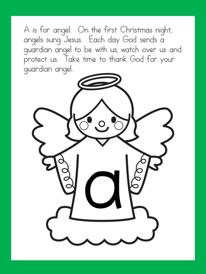 FREE Alphabetical Advent Calendar