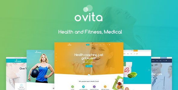 Download Ovitahealth - Onepage Multipurpose WordPress Theme Nulled ...