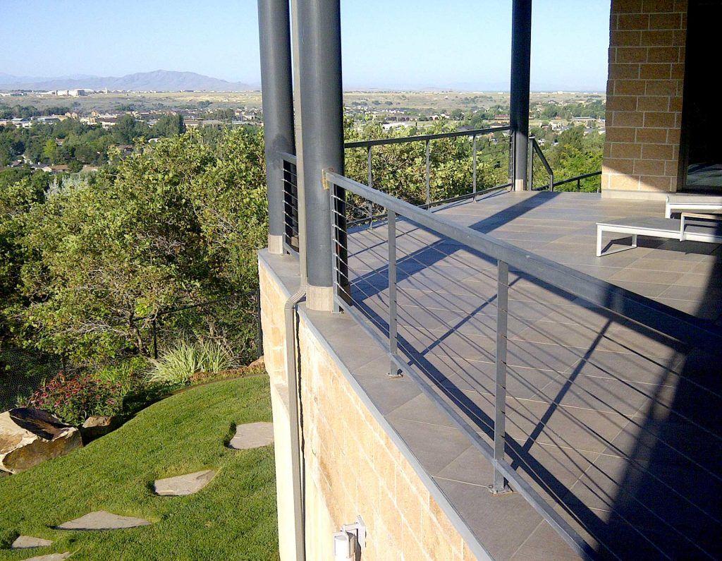 Tile Deck Images Beautiful, Waterproofed Outdoor Tile