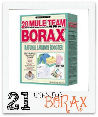 Uses For Borax 21 Uses For Borax Diy Do It Yourself