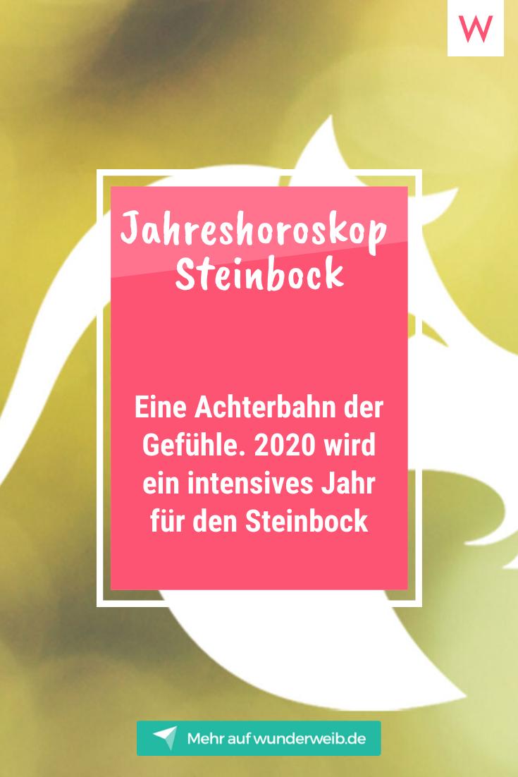 Horoskop steinbock frau single 2020