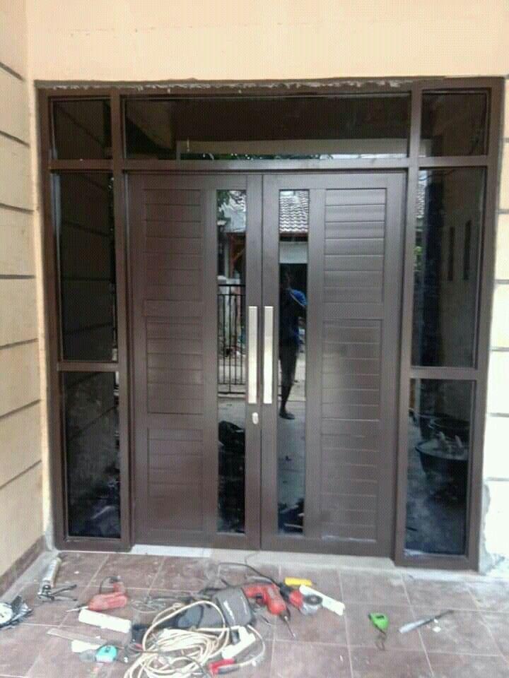 Pintu Aluminium Di 2020 Pintu