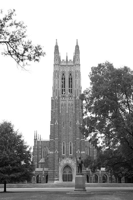 Duke University Chapel Undergraduate Graduation Wedding
