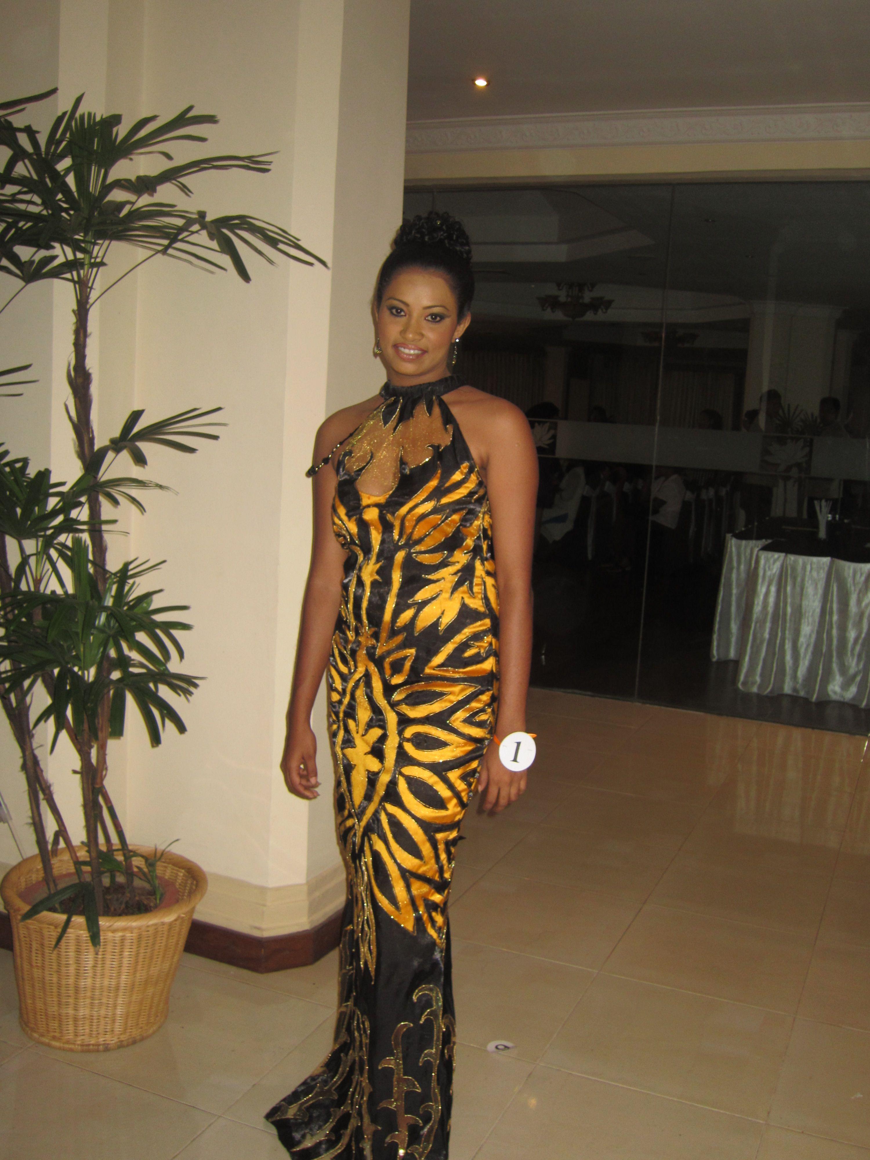 Maxi dress evening observer