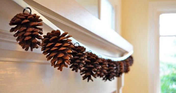 C mo decorar tu hogar con pi as naturales decoraci n - Decorar pinas naturales ...