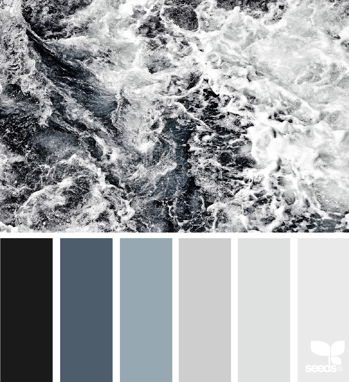 Sea Tones via @designseeds