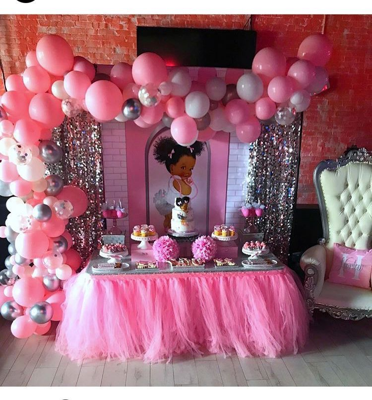 Pin By Charity Simmons On Girl Baby Shower Baby Birthday Party