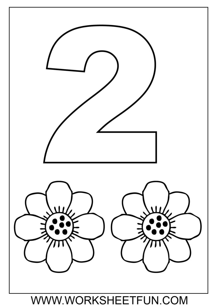 25 Great Image Of Number 1 Coloring Page Numbers Preschool