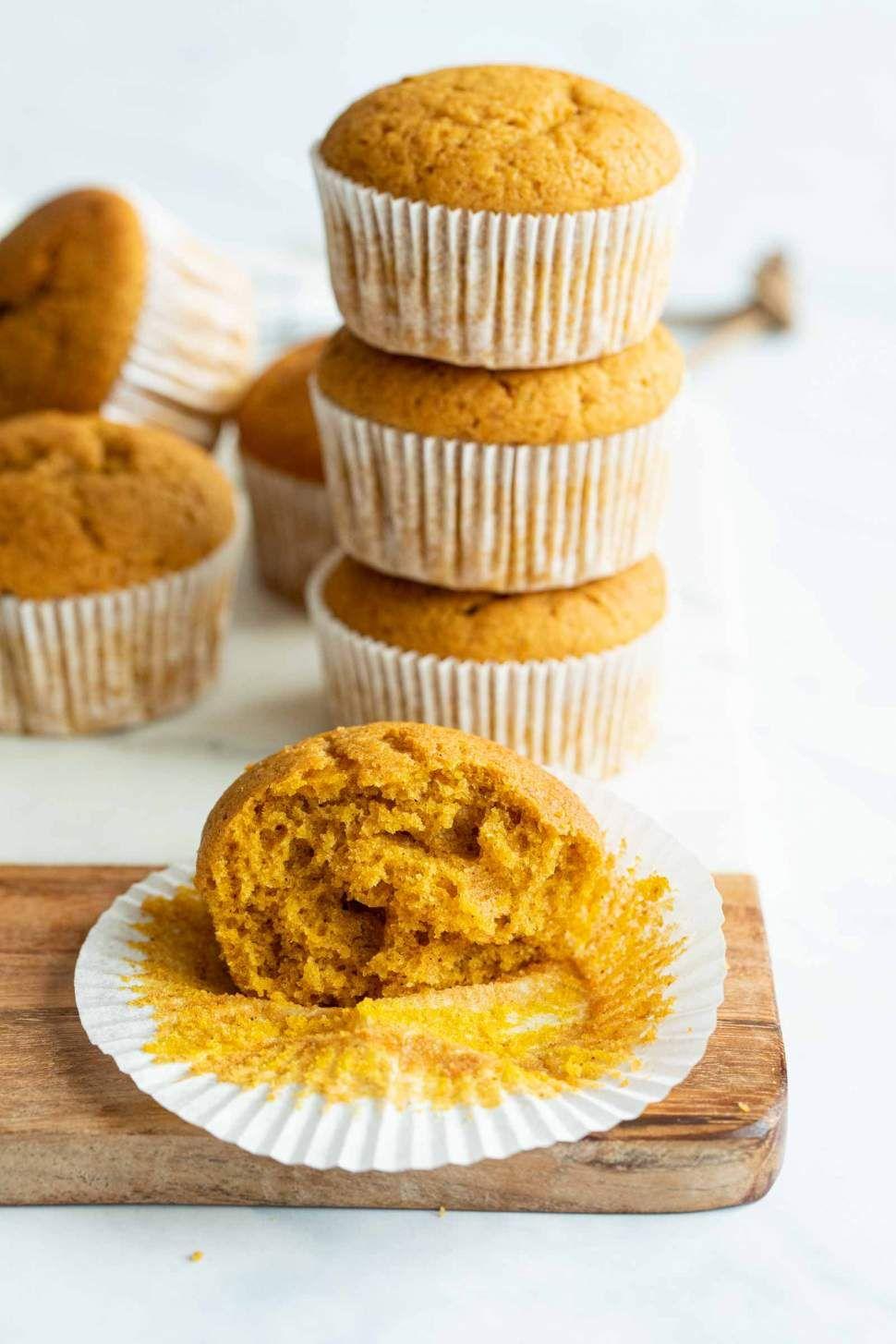 Easiest Pumpkin Muffins (Dairy-free)