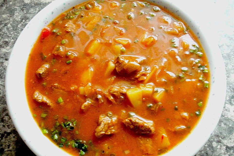 Photo of Goulash Soup Grandma Recipes | chef