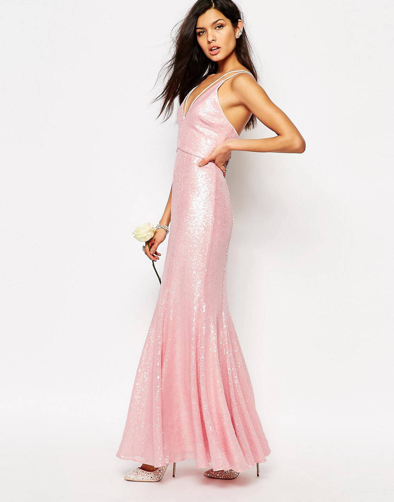 Pink cocktail dress for wedding  LOVE this from ASOS  Kimus Wedding  Pinterest  Weddings