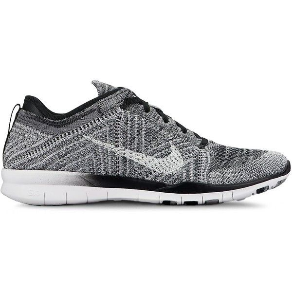 Nike Women's Free Flyknit Lace Up Sneakers ($130) ❤ liked on Polyvore  featuring shoes