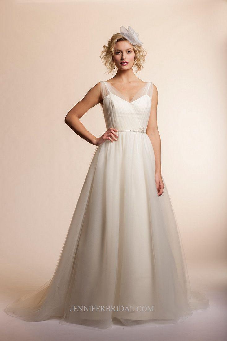 Amy kuschel bridal gown style breeze flowers pinterest