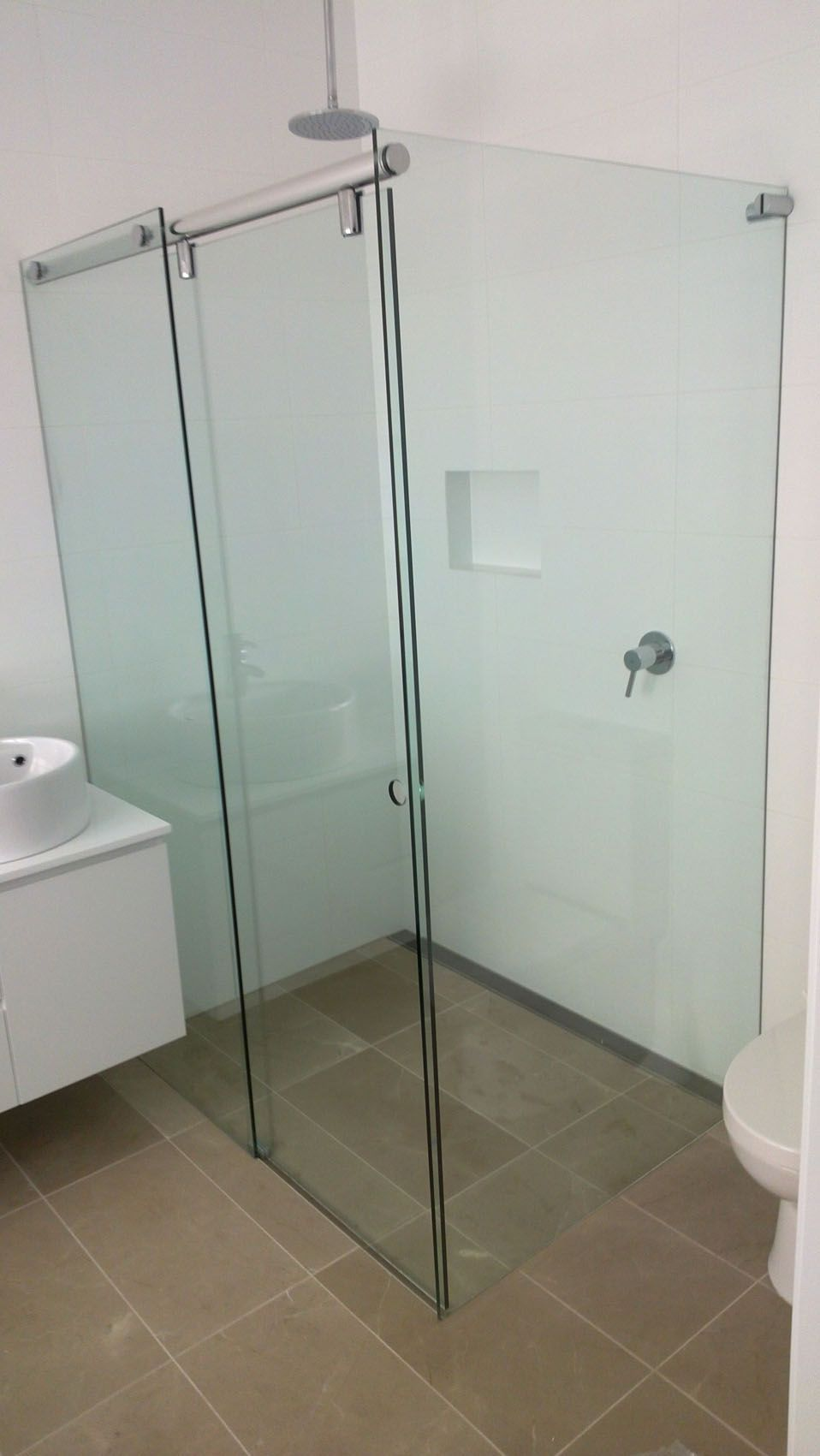 White Bathroom Co Willoughby shower screens - vanites- mirrors ...