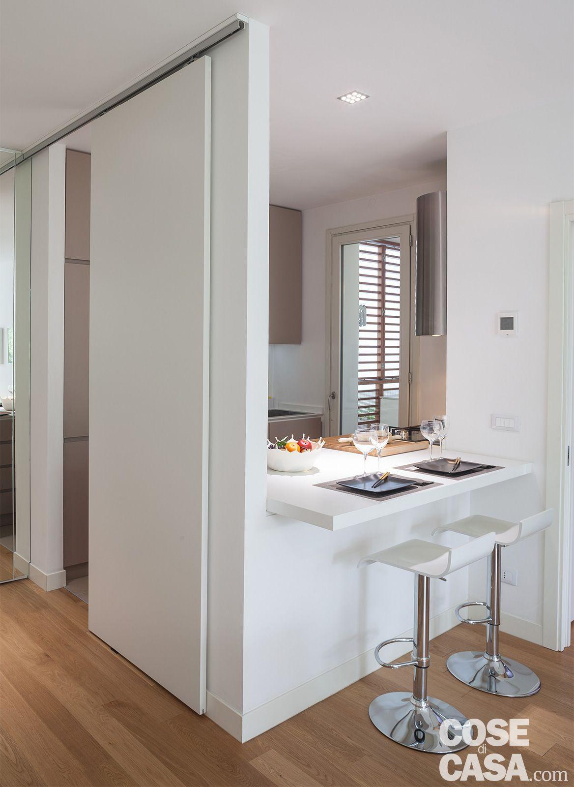 50 Idee Cucine Piccole Moderne Con Isola Ad U Open Space Arredare Cucina Piccola Arredo Interni Cucina Appartamenti Moderni Arredamento Moderno Cucina