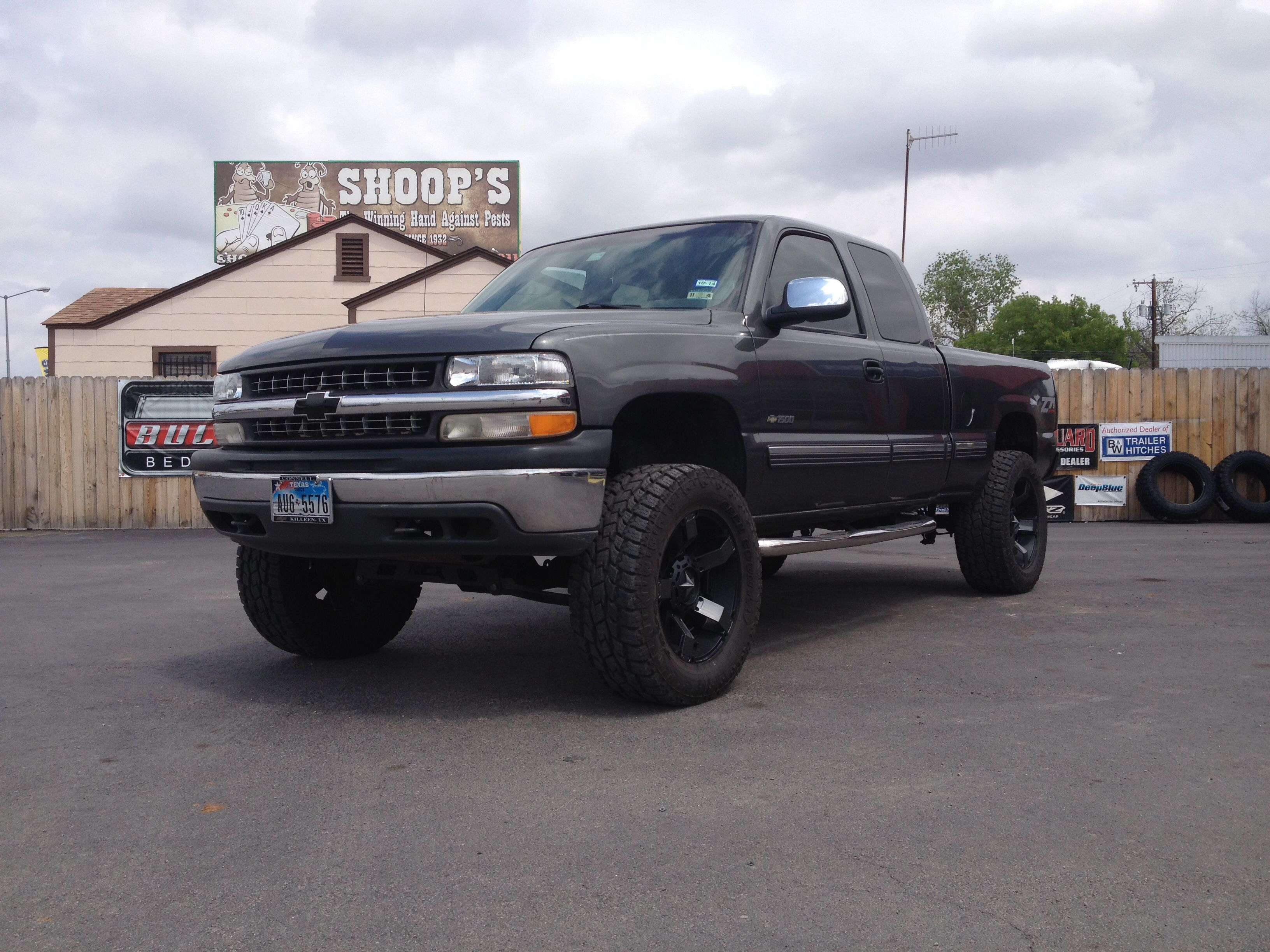 2001 chevrolet silverado z71 personal 6 rcx lift ntd 20 rockstar 2s w paint to match. Black Bedroom Furniture Sets. Home Design Ideas