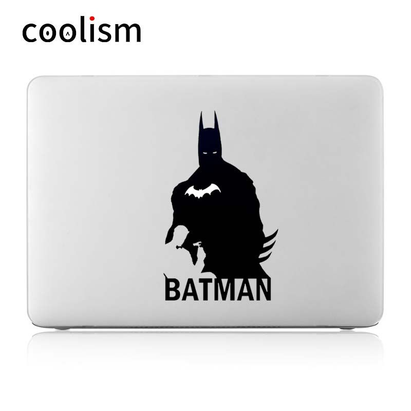 Batman glowing design laptop sticker for apple macbook pro decal air 13 retina mac 11