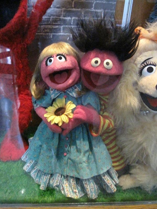 Prairie Dawn And Roosevelt Franklin Sesame Street Muppets