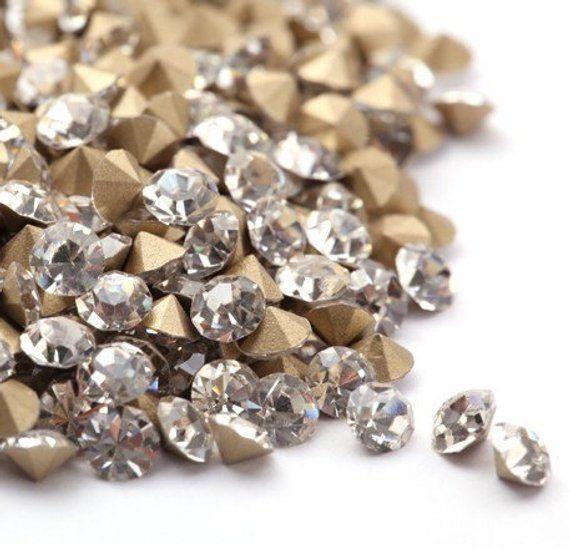 Free shipping 300pcs swarovski Crystal 4mm 5040# Flat Shape Beads Brand New