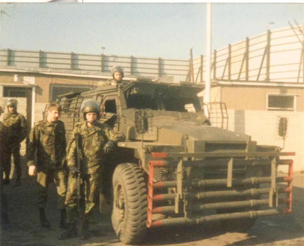 tanks and other military vehicles