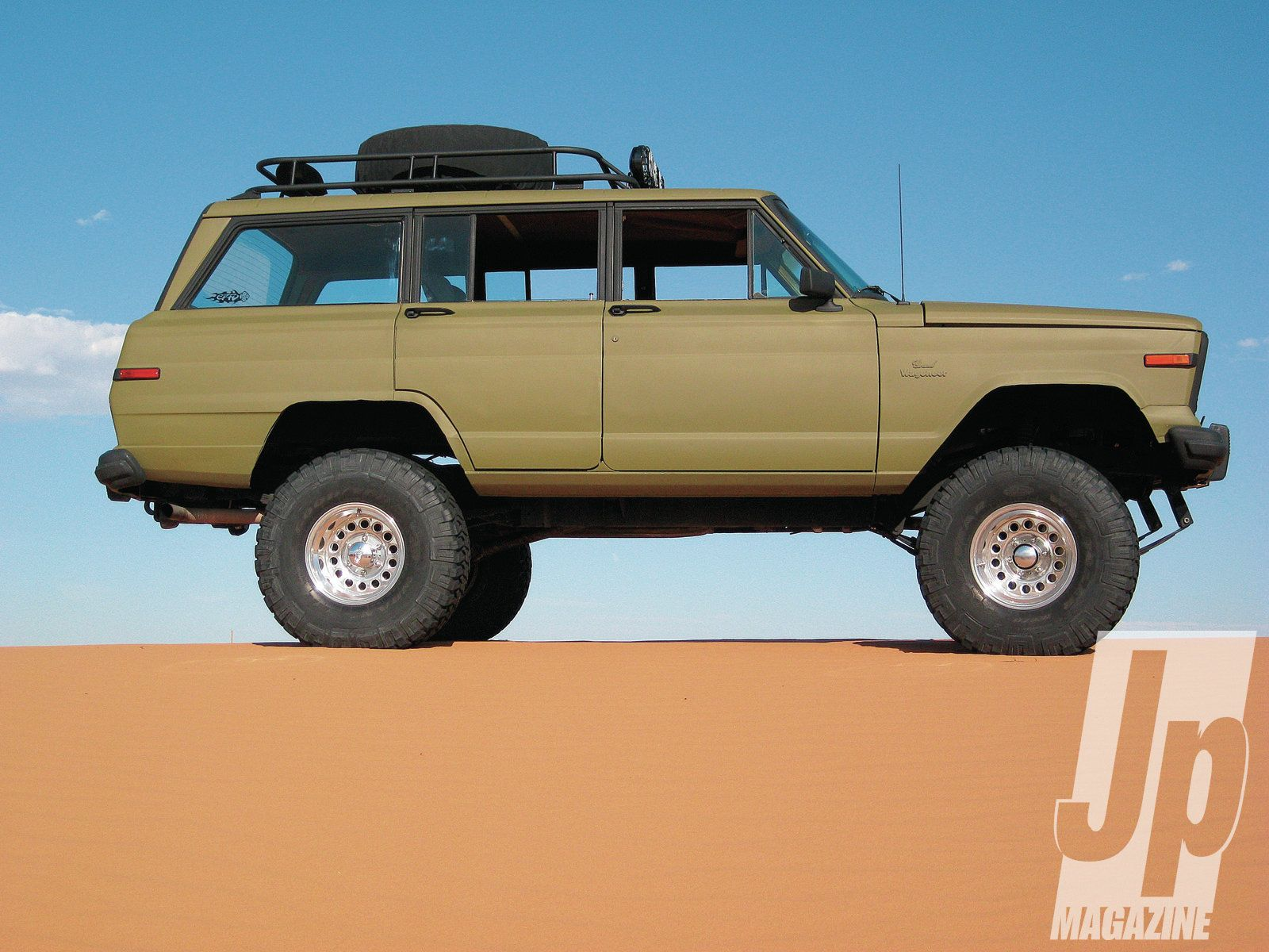Grand Wagoneer Roof Rack | The Wagon