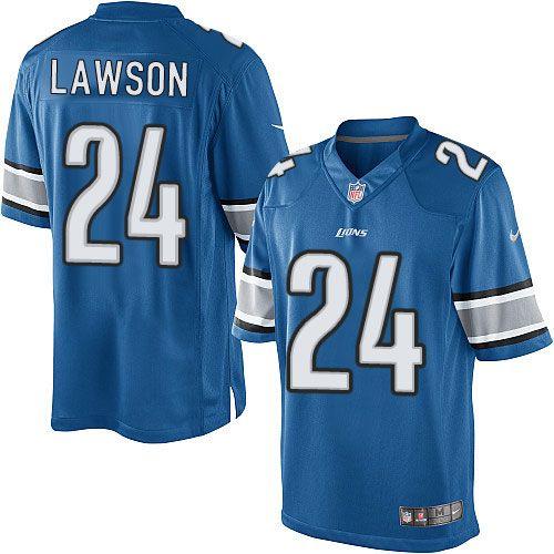 $24.99 Nike Elite Nevin Lawson Light Blue Youth Jersey - Detroit ...