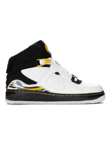 8948a2cecde Nike Air Jordan 8 VIII Air Force One Fusion AJF8 White/Black-Varsity ...