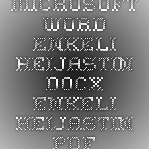 Microsoft Word - Enkeli_heijastin.docx - Enkeli_heijastin.pdf