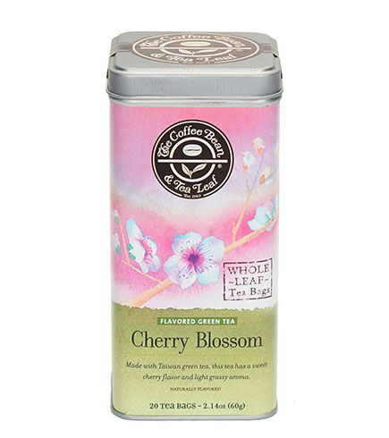 Pin By Heidi Costigliolo On A Rinky Tinky Drinky Tea Leaves Cherry Blossom Tea Blends