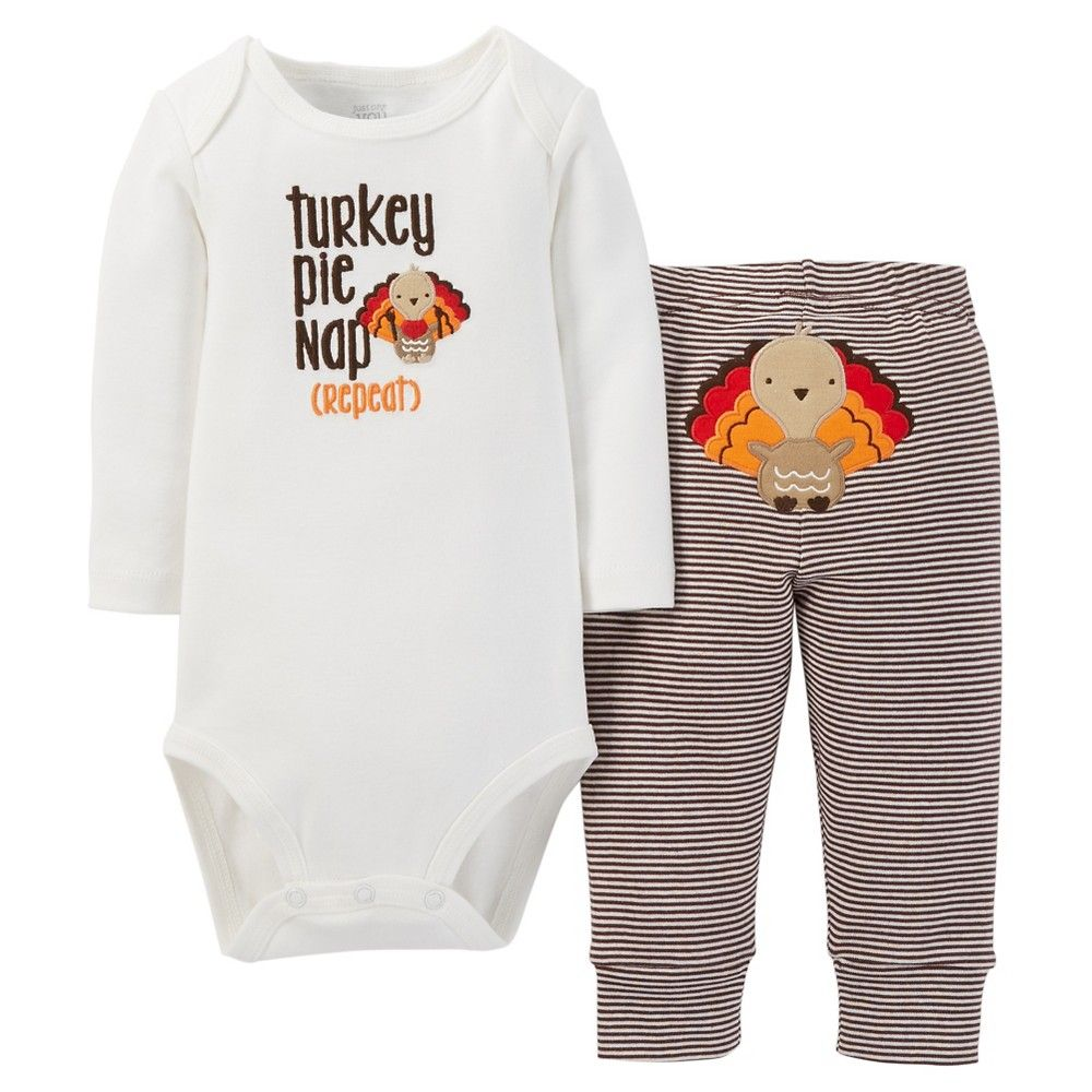 eacc289c3e Just One You Made by Carter s Boys  Top and Bottom Sets White Brown ...