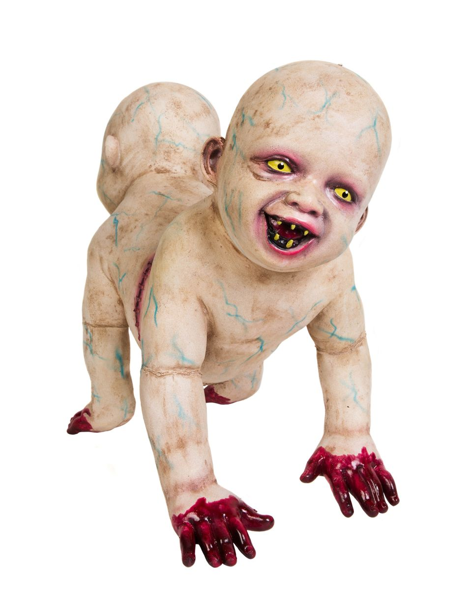 Halloween Zombie Baby Prop.Doug Phil Degrave Zombie Baby Spirit Halloween Beware Of The